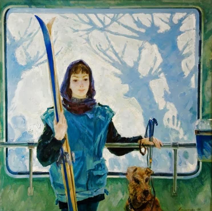 Лимантова Ирина Феликсовна (Россия, 1958-2000 Воскресный маршрут 1989