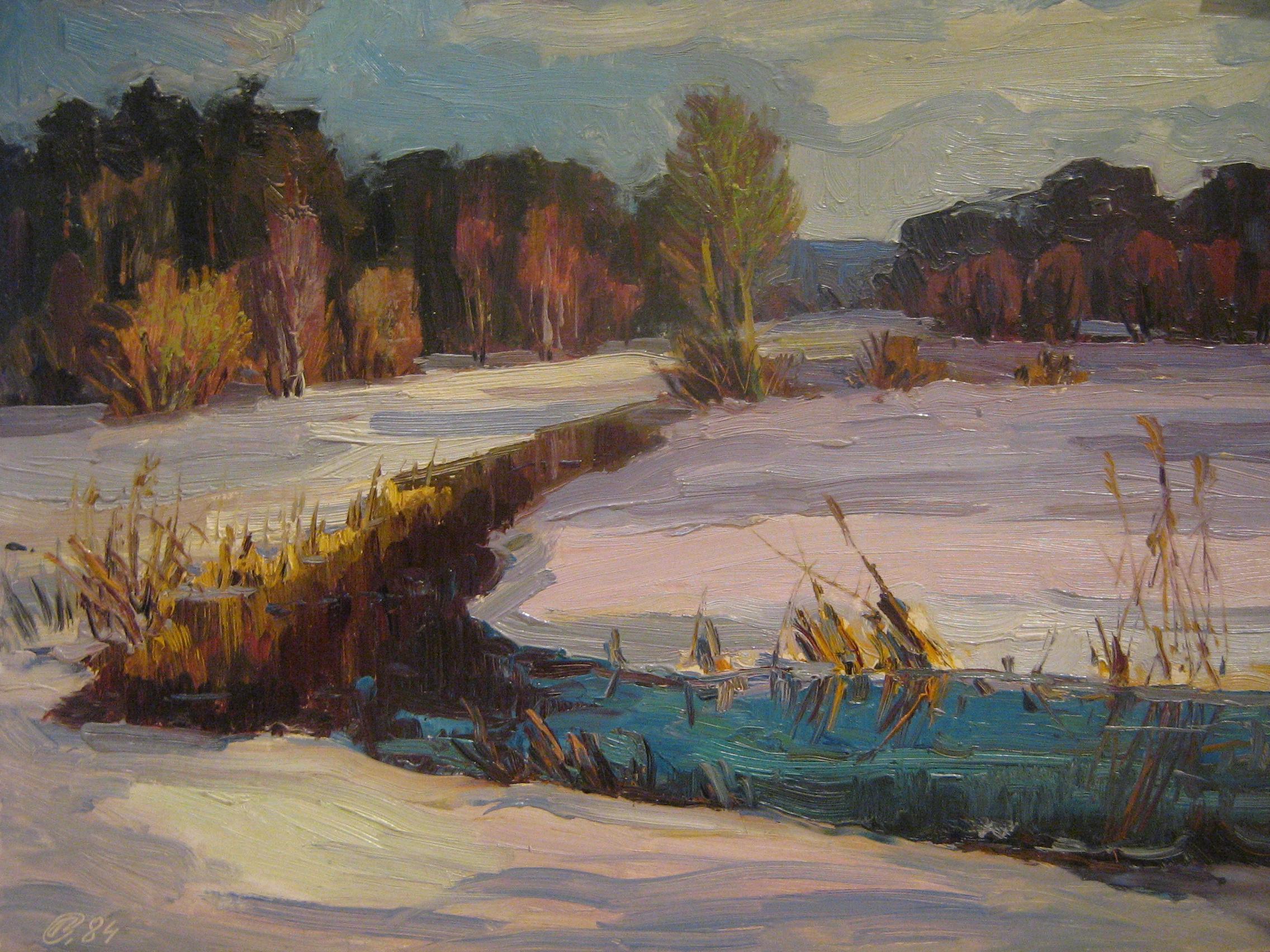 Gleznas pārdošanā Mākslas Banka 1984
