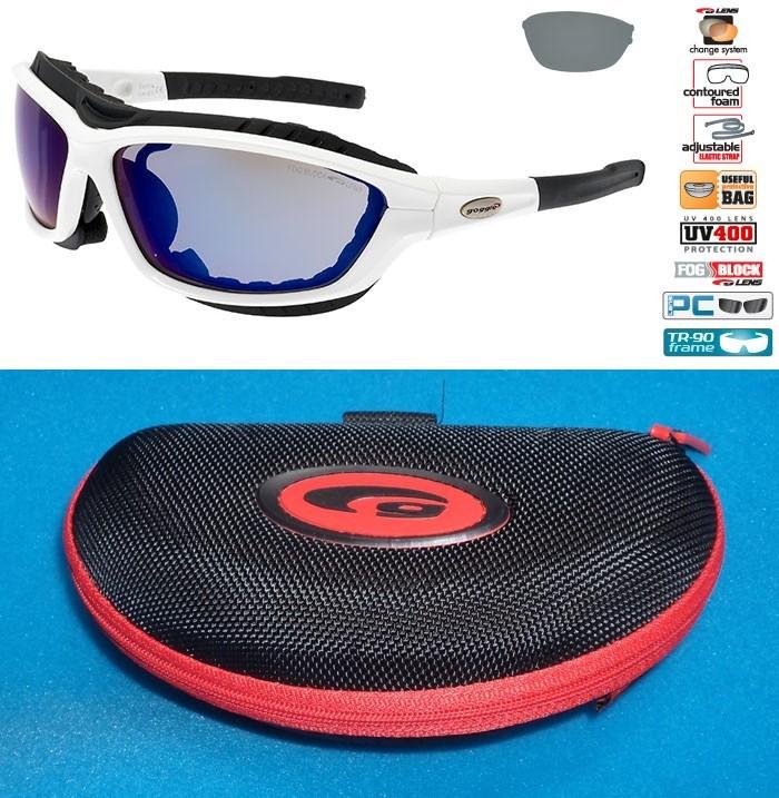 Okulary Goggle T417-4 w komplecie z Etui
