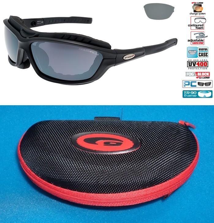 Okulary na narty biegowe GOGGLE T417-1