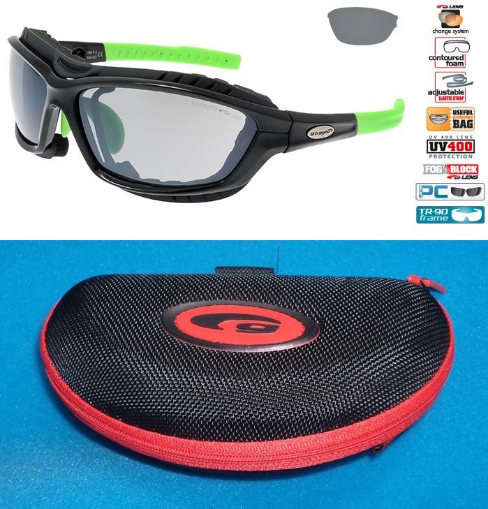 Okulary na narty biegowe GOGGLE T417-3