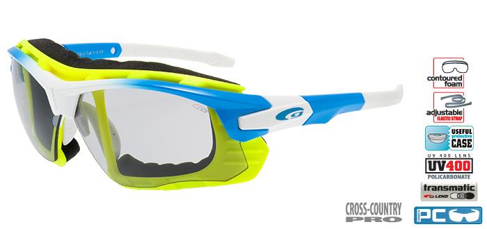Okulary sportowe fotochromatyczne Goggle T638-3