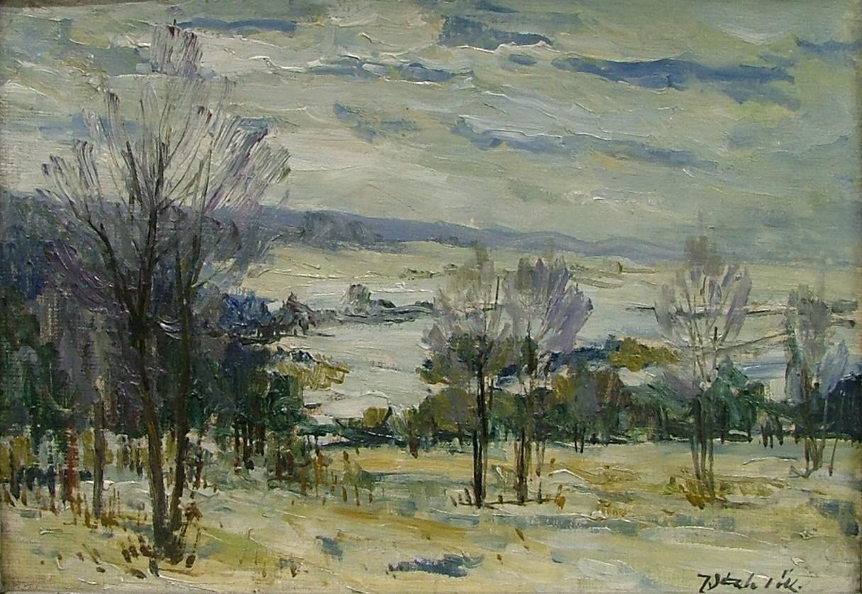 STEHLÍK Jindřich (1905-1991) Zima v Jizerských horách