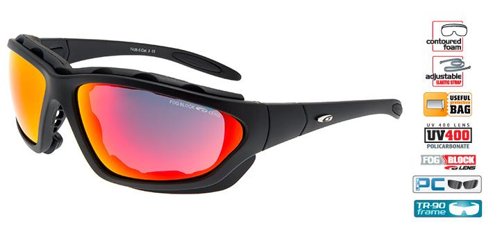 Okulary na narty biegowe T436-5