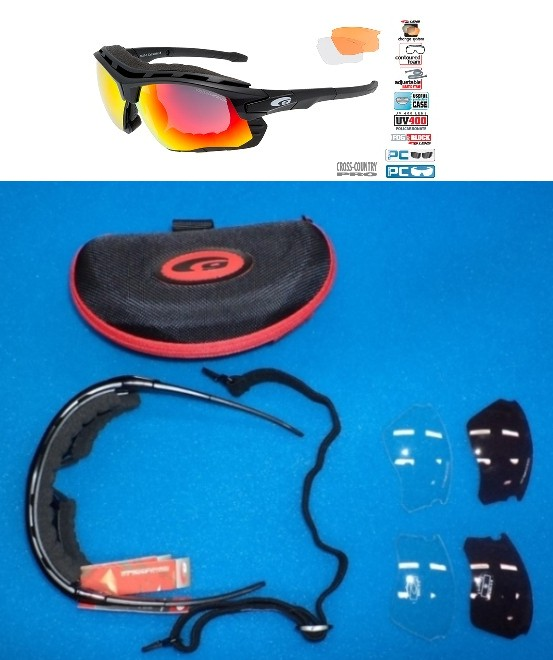 Okulary na narty biegowe Goggle T637-1