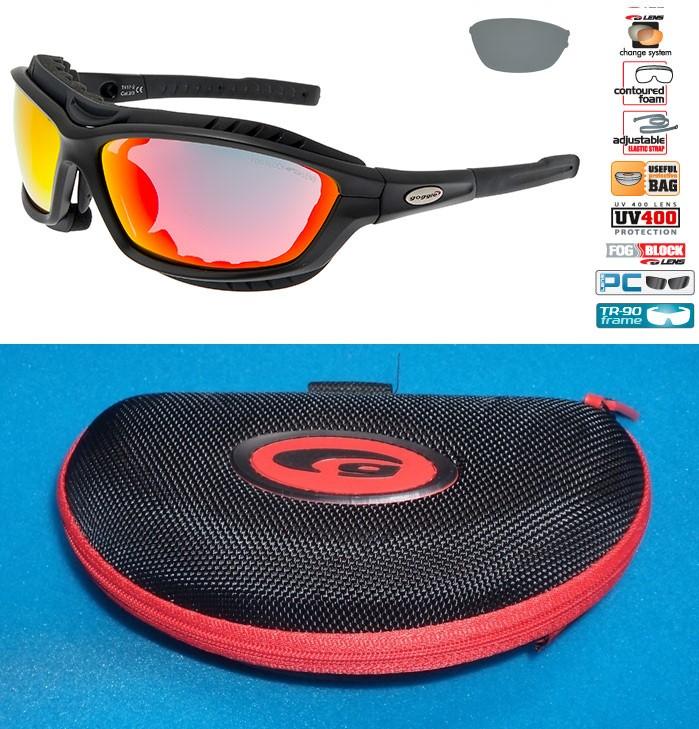 okulary na narty biegowe Goggle T417-2