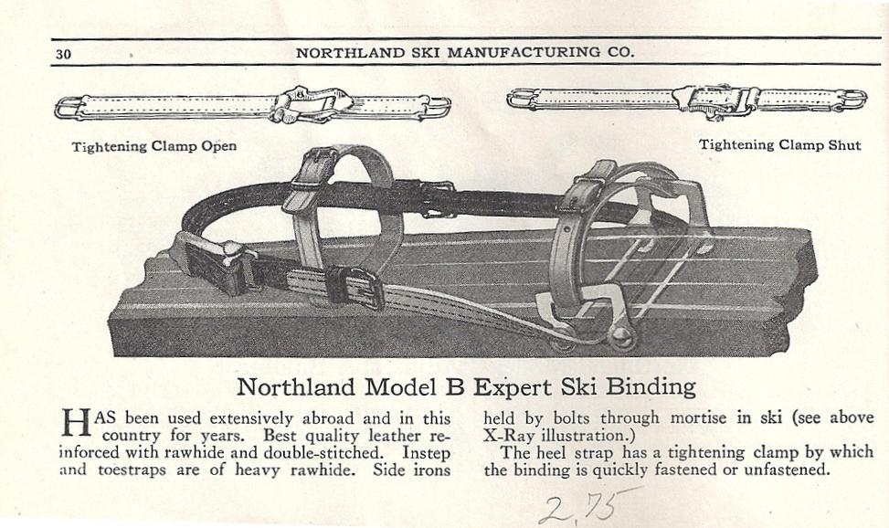 Northland 1923 wiązanie