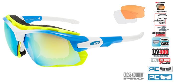 Okulary na narty biegowe T637-3