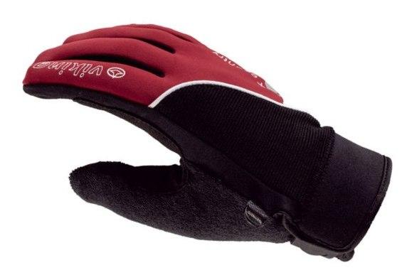 Rękawiczki na biegówki Viking X-Country, czarno-czerwone (kod 9020-34)