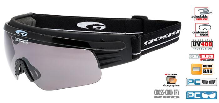 Okulary na narty biegowe T325-1