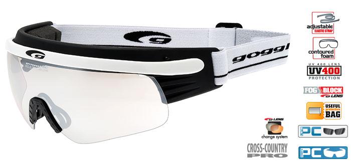 Okulary na narty biegowe T325-2