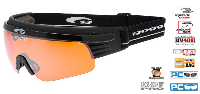 Okulary na narty biegowe T325-4