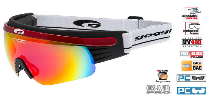 Okulary na narty biegowe T325-5