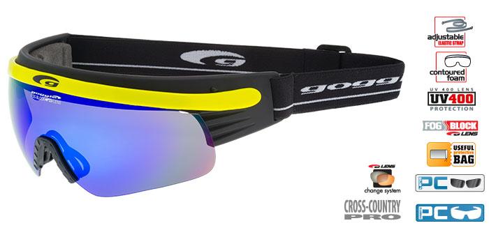 Okulary na narty biegoweT325-6