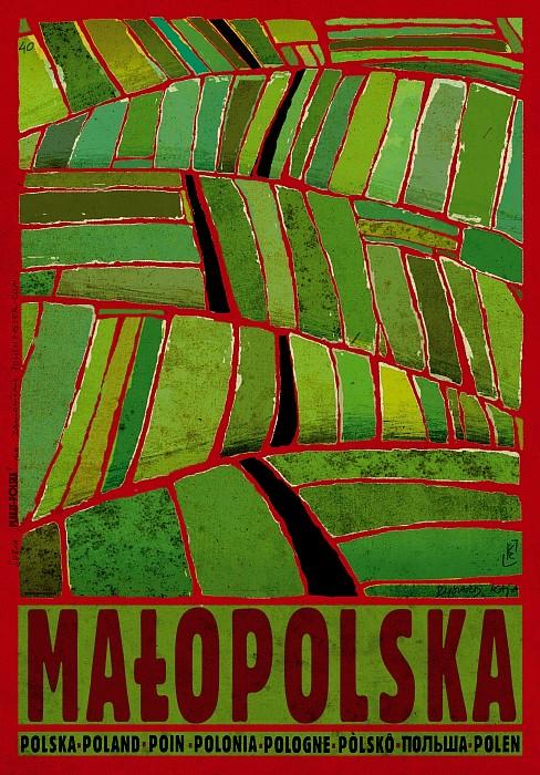 Plakat Małopolska