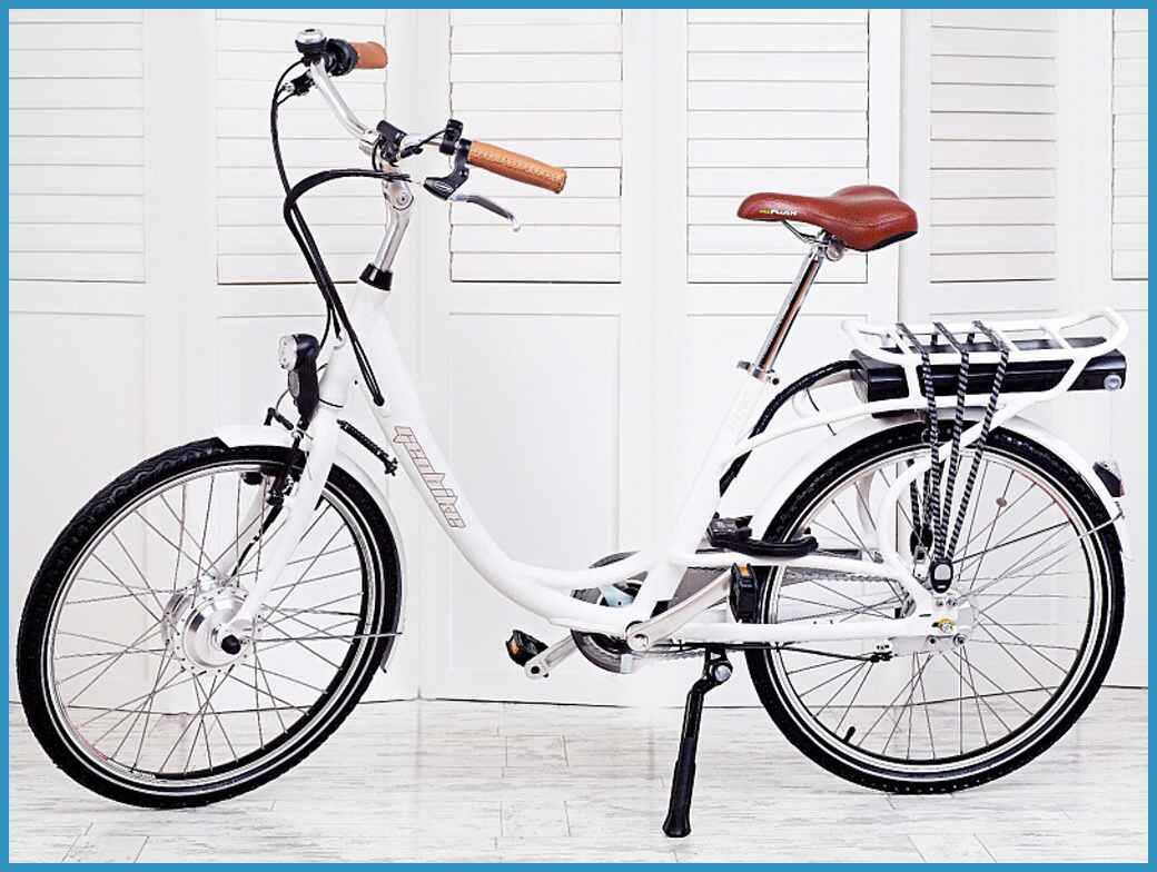 Rower elektryczny damski Geobike Perfect Plus