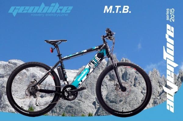 Rowery elektryczne górskie Geobike MTB