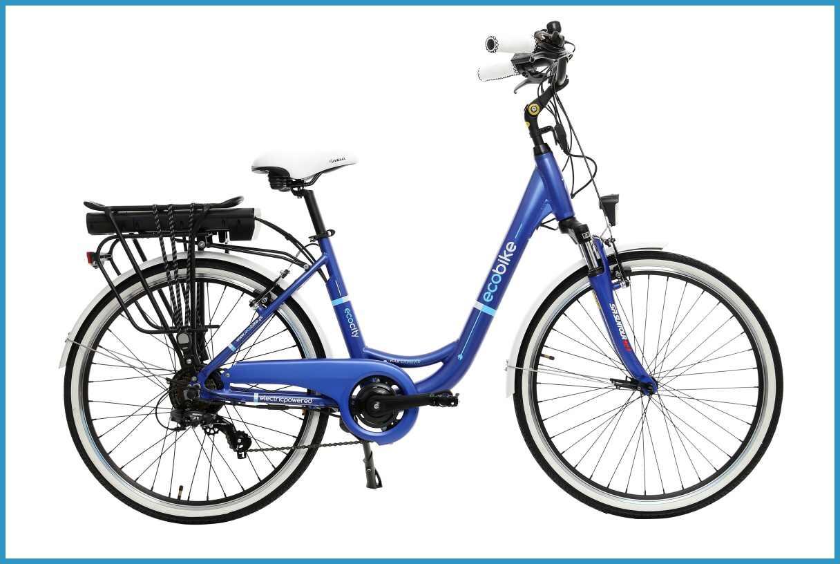 Rowery elektryczne City-l-blue