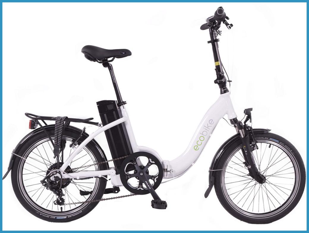 rower elektryczny składany polski Geobike Even